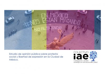 Estudio de opinión pública sobre protesta social y libertad de expresión en la CDMX