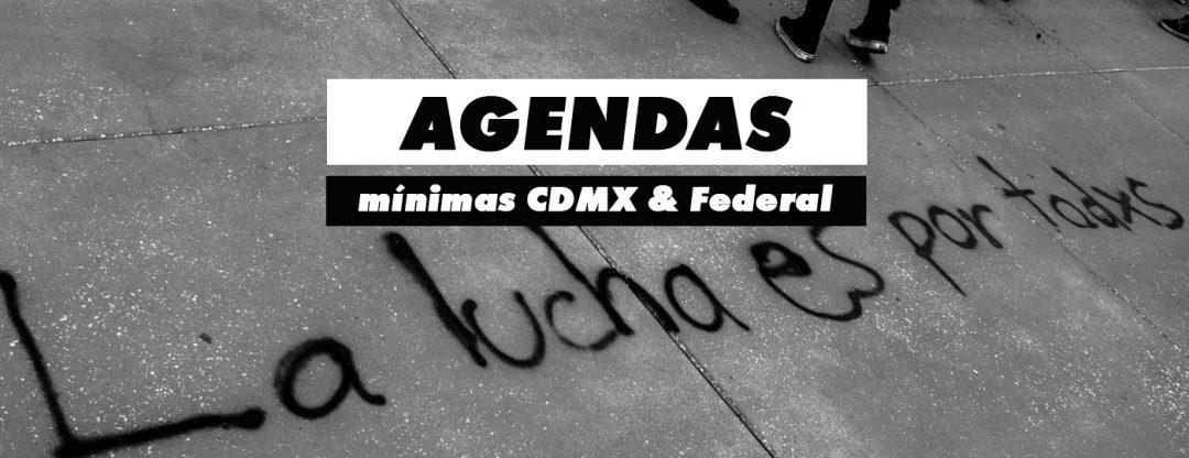 Agendas | Federal y CDMX